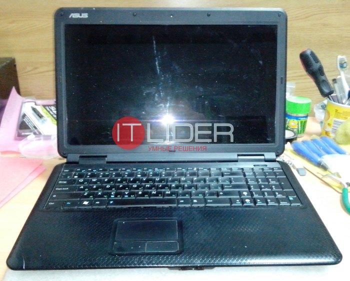 Чистка ноутбука Asus K50C