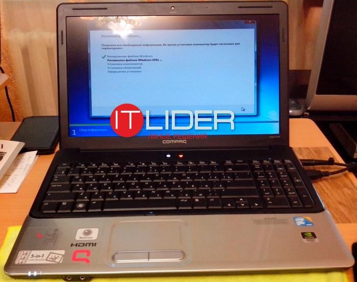 HP Compaq Presario CQ61-323er