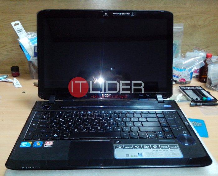 Чистка Acer Aspire 5942G