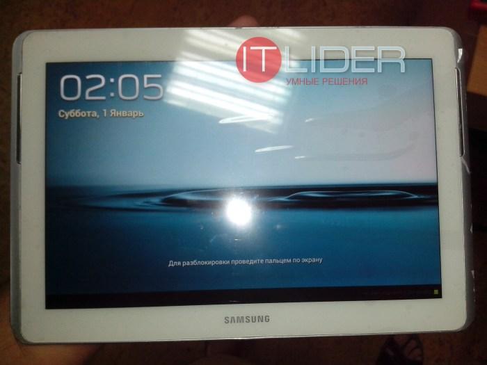 Стекло Samsung galaxy tab